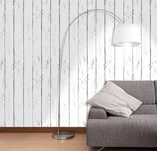 Homya 壁紙シール 45cmx6m 木目 リメイクシート はがせる壁紙 接着剤不要 DIYシート 防水 防カビ ウォールステッカー