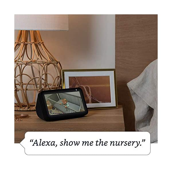 Echo Show 5 -- Smart display with Alexa – stay connected with video calling - Charcoal 3