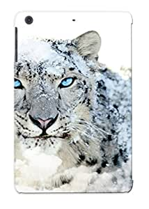 Cute High Quality Ipad Mini/mini 2 Animal Snow Leopard Case Provided By Gregorymalone
