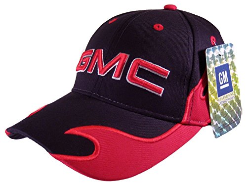 5e961a8d5ee GMC Men s New Official Licensed Baseball Hat 3D Logo GM Trucks ...