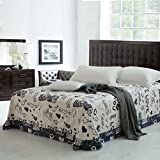 cotton printing bedspreads/Fresh European style single and more sheets-E 180x230cm(71x91inch)