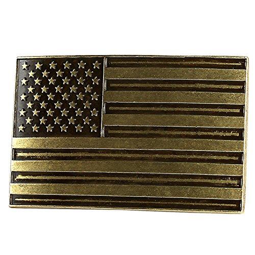 "NPET USA Flag Belt Buckle for Men and Women (Fit 1.5"" belt) - American Independence Day"