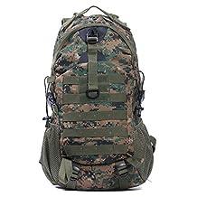 Men And Women Backpack Backpacks Travel Bag Riding Capacity 55L Color Optional,Junglecamouflage