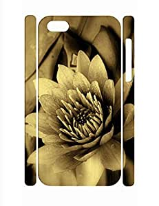 Artistic Individualized Classic Flower Print Slim Cell Phone Skin Case for Iphone 5C
