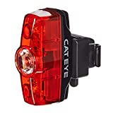CAT EYE - Rapid Mini Rear Rechargeable LED Bike Safety Tail Light, 25 Lumens