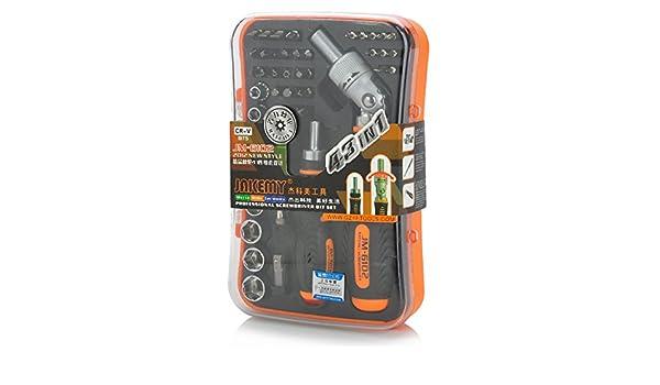 6102 multifunción carraca destornillador w/llaves de vaso + puntas ...