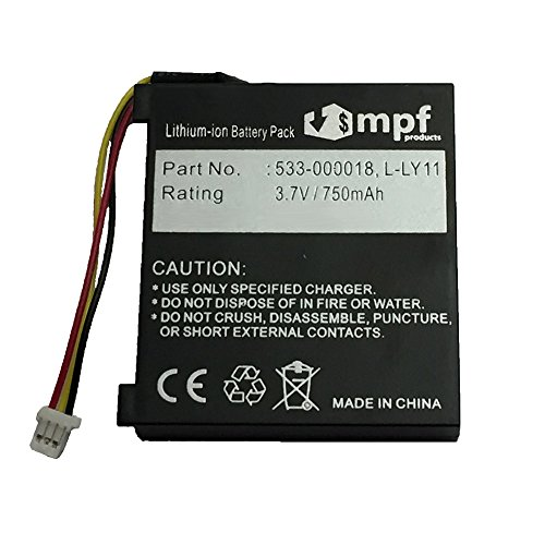 MPF Products 750mAh High Capacity Extended L-LY11 F12440097 553-000018 Battery Replacement Compatible with Logitech G930 Wireless Gaming Headset and MX Revolution Laser Mouse (Older Generation)
