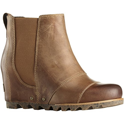 Sorel Womens Lea Stivaletti Con Zeppa Alce / Curry