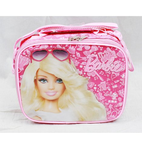 Mattel Barbie Insulated Lunch Bag tote school