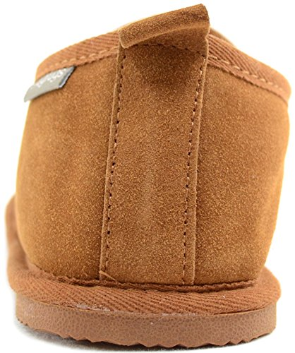 Flache Snugrugs Braun Slipper Hausschuhe Sheepskin with Herren Rubber Henley Chestnut Sole Sxz0nUSr
