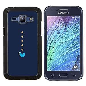 EJOOY---Cubierta de la caja de protección para la piel dura ** Samsung Galaxy J1 J100 ** --Monstruo de las Galletas de la haba Eater