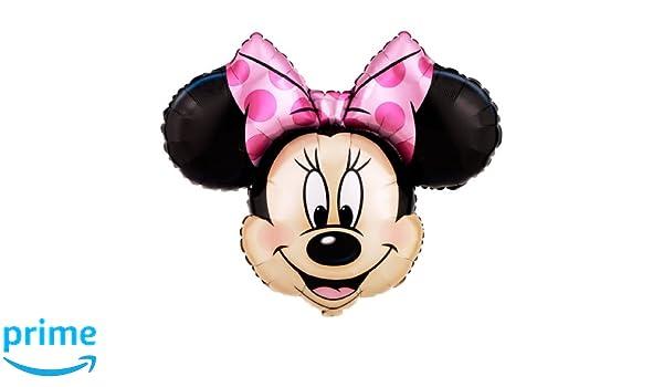 Minnie mouse globo gigante hoja (desinflado): Amazon.es: Juguetes y juegos