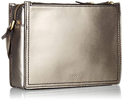 Crossbody Campbell Pewter Fossil Campbell Bag Crossbody Pewter Campbell Fossil Fossil Bag wq16Ax