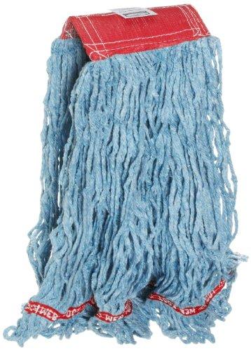 Rubbermaid Commercial Web Foot Blend Mop, Large, Blue, FGA15306BL00