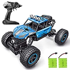 SHARKOOL 2019 Newest 2.4 GHz 4WD 1/16 Scale High Speed Remote Control CarPackage Included1 x SHARKOOL RC Car2 x 4.8V 600 mAh rechargeable Ni-Cd batteries1 x Remote control (battery isn't included)1x USB Cable1 x Screwdriver4 x Screws1 x User ...