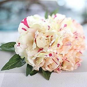 YJYdada Artificial Fake Flowers Leaf Magnolia Floral Wedding Bouquet Party Home Decor 11