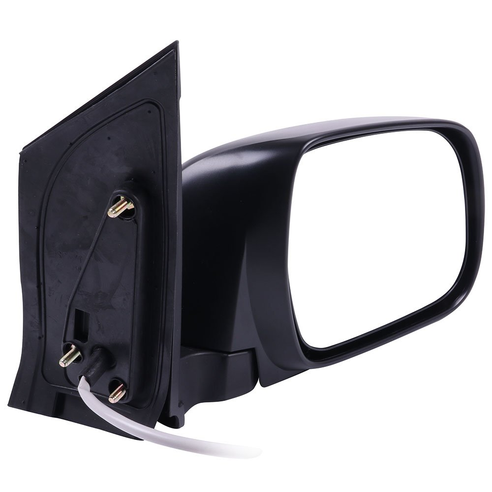 SCITOO Driver Left Door Mirror fit 2004-2010 Toyota Sienna Power Adjusted Manual Folding Side Tow Mirror