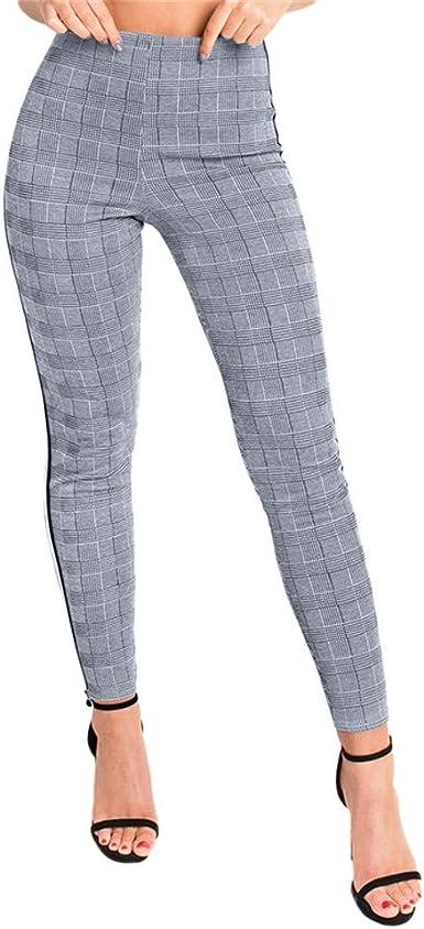 pantalon femme carreaux