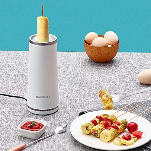 YYEWA Egg Master - Wurstkocher Stangenei Maschine - Smarter Eierkocher 220V für Einfach Frühstück,Weiß