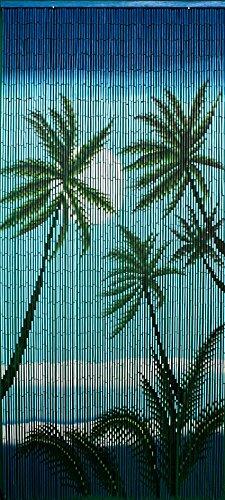 Bamboo 54 5296 Caribbean Palms (Palm Tree Bamboo Curtain)
