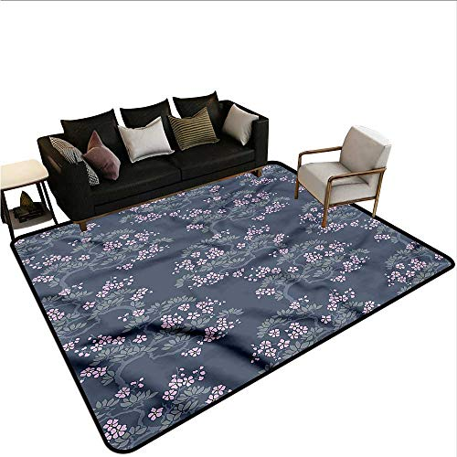 - Leaf,Kids Bedroom Mats Decorative 48
