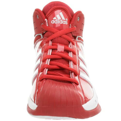 adidas Men's Pro Model Team Color Basketball Shoe,Red/Red,9.5 M by adidas (Image #4)