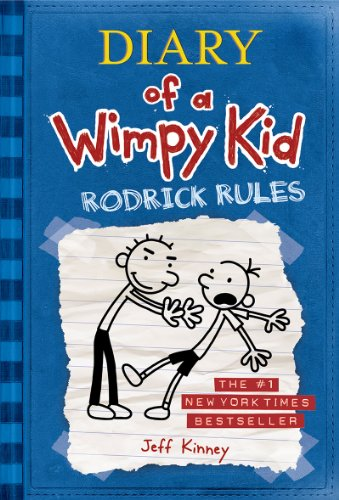 Rodrick Rules - Book #2 of the Diary of a Wimpy Kid