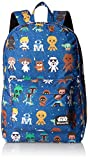 Loungefly Star Wars Baby Character Aop Print Back pack, Multi, One Size