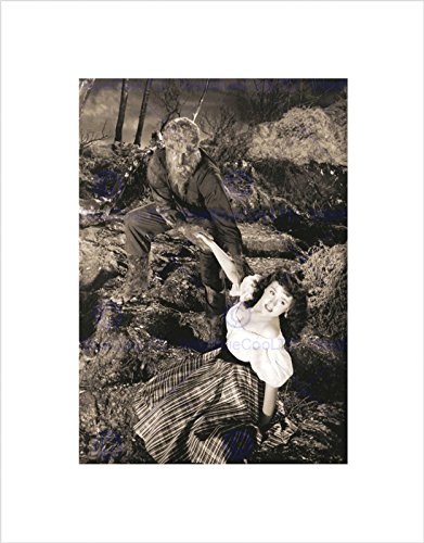 (The Art Stop Photograph Film Black White Monster Halloween Wolfman Werewolf Print)