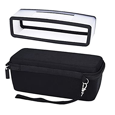 Mudder Hard Travel Carrying Case with Soft Cover for Bose Soundlink Mini I and Mini II Bluetooth Speaker