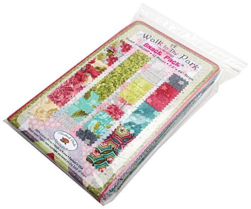 ro-gregg-a-walk-in-the-park-snack-pack-25-precut-cotton-fabric-quilting-strips-assortment-jelly-fabr