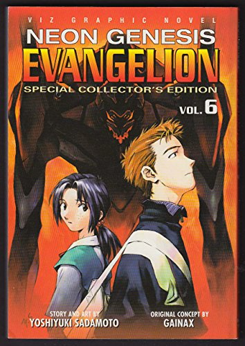 Neon Genesis Evangelion 6 Collector's Edition manga comic book 1st printing 2002 from The Jumping Frog