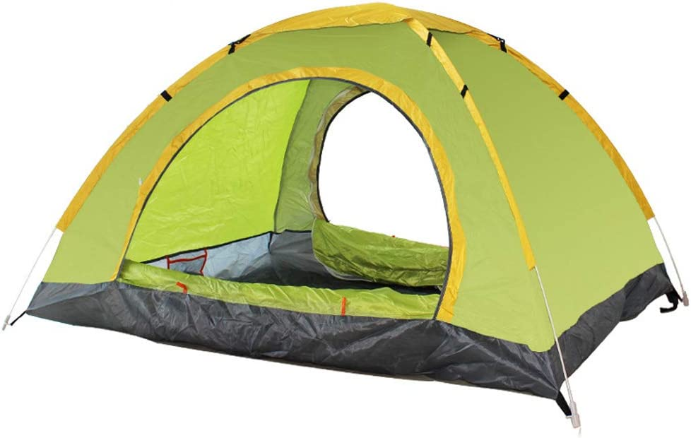 BaiYouDa Backpacking Tent Automatic Pop Up Beach Tent for 1-2 Person