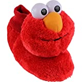sesame street elmo slide - Sesame Street Elmo Little Kids Sock Top Slippers (L (9-10), Smile Red)
