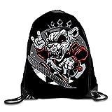 3D Print Drawstring Backpack Rucksack Shoulder Bags Gym Bag Lightweight Travel Backpack Hip Hop Animals