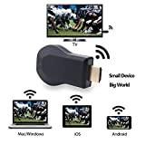 COOSA Anycast M2 Wireless HDMI Display Receiver 128M Casting Videos Audio Pictures and Games from Smart Portable Tablets to TV Monitor or Projector