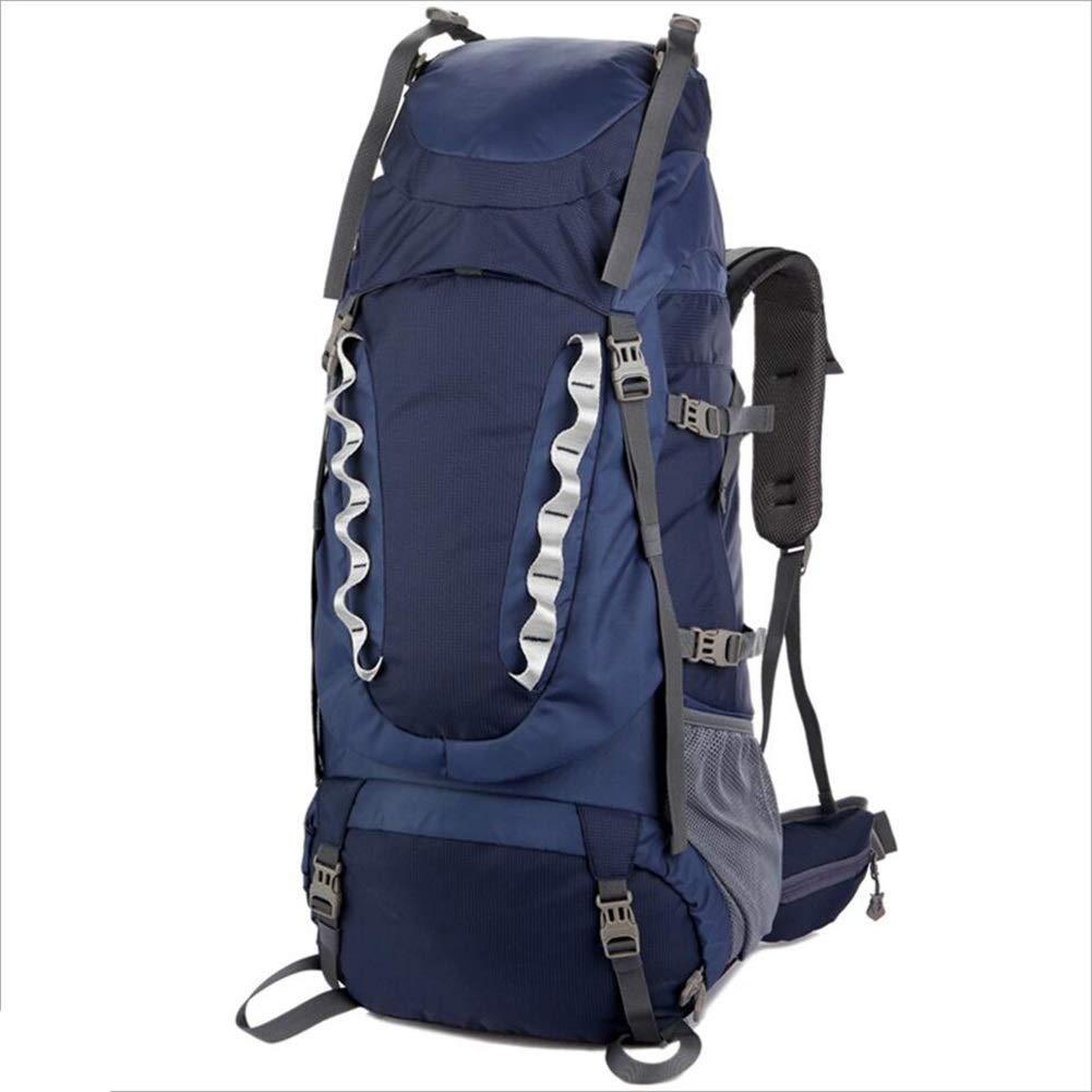 ハイキングバックパック男性用アウトドアアウトドア旅行登山リュックサック CONGMING (色 : 濃紺, サイズ さいず : 80L) 80L 濃紺 B07QGB1X1T