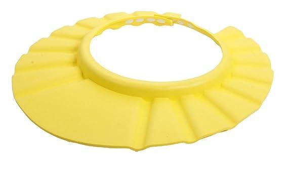 Ajustable de la bebé Dealglad de la ducha Protector niños infantil con forma de champú o lavado a para la bañera sombrero del casquillo para el pelo ...