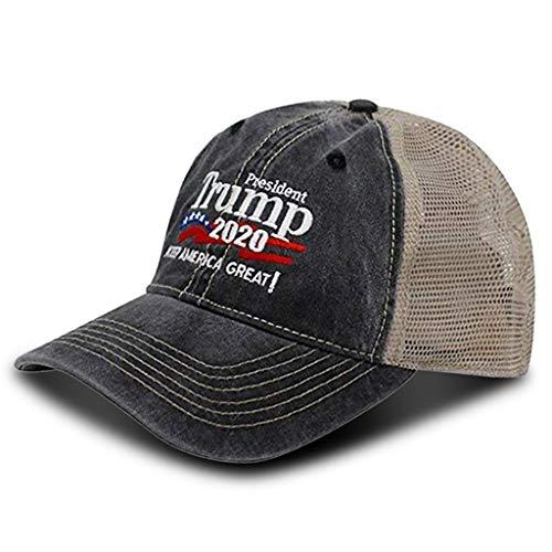 UNBRUVO Military Imagine Donald Trump Cap Keep America Great Hat Election -