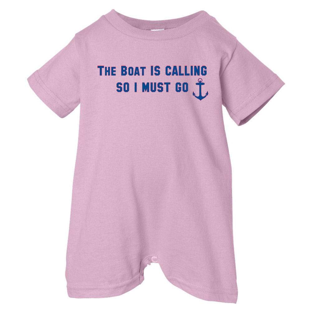 Pink, 24 Months Pirates /& Anchors Unisex Baby The Boat Is Calling So I Must Go Baby /& Toddler T-Shirt Romper