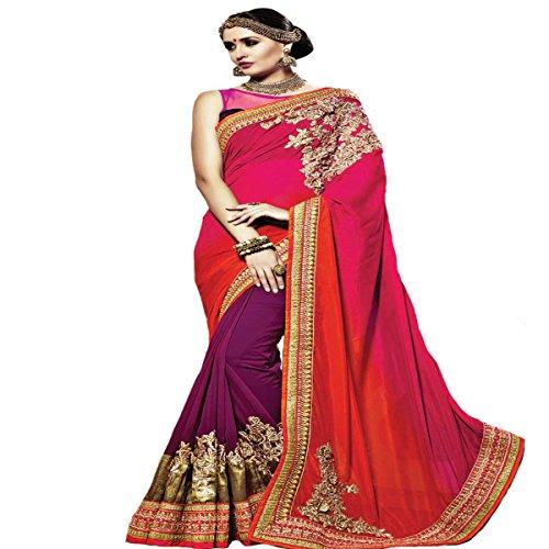 indischen Hochzeit Sari Neue Fashion Frauengewand Designer Arbeit Original Ethnic Traditionelle Sexy 805