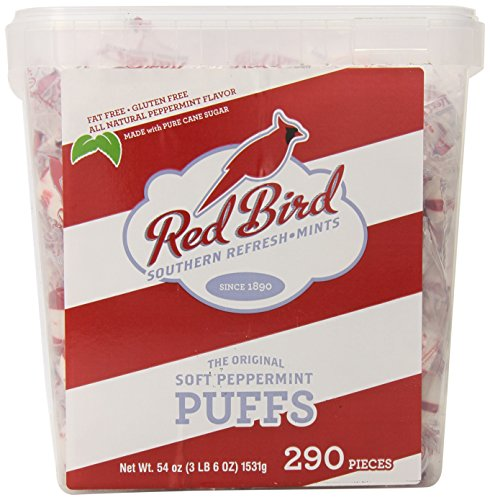 Red Bird Soft Peppermint Puffs Tub, 290 Count