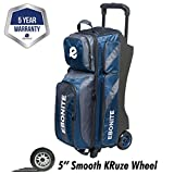 Ebonite Equinox Triple Roller Bowling Bag (Navy)
