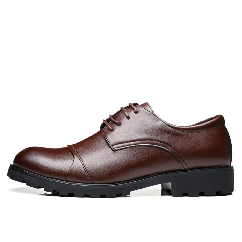 JIALUN-scarpe, Scarpe Scarpe Scarpe Stringate Uomo, Marrone (Marrone), 39.5 EU e93ebf
