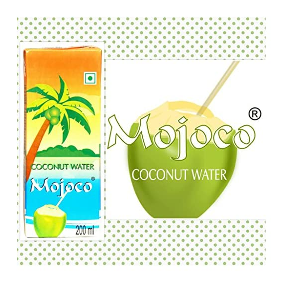 MOJOCO Delicious Natural Tender Coconut Water Energy Drink (200 ml) (6)