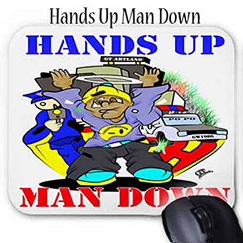 Amazon.com: GT Artland Hands Up Man Down On Mouse Pad