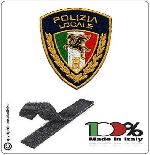 GS1 Parche Bordado con Velcro policía Locale Nuevo Logotipo 2020 Art. PL-T.: Amazon.es: Hogar