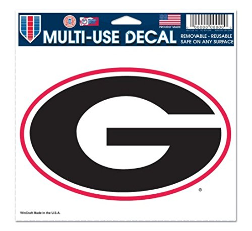 Georgia University Ncaa Bulldogs (NCAA University of Georgia Bulldogs 5'' x 6
