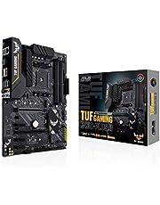 ASUS Tuf Gaming B450-Plus II AMD B450 Am4 DDR4 4400 DP Hdmı Çift M2 Usb3.2 Aura Rgb ATX 128GB'a kadar ram desteği, AI Ses Engelleyici Mic. desteği