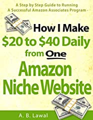 About the BookThis book is my personal experience about making a living from Amazon affiliate program. It's the first edition and was published in 2019. I wrote it to teach you step by step how I make a consistent $20 to $40 daily income from...